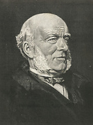 'Thomas Hughes (1822-1896) English writer, lawyer and Liberal politician with interest in Working Men's Clubs and Christian socialism. Author of ''Tom Brown's Schooldays'', 1857, a novel set in Rugby School..'