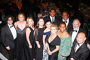 SAG Executive Staff: front row: Dave Navarro, Jane Austin, Samantha Mathis, Rebecca Damon, Deborah Skelly, Gabrielle Carteris, Catherine Brown, Clyde Kusatsu, (back row) David White, Mike Hodges, David Hartley-Margolin