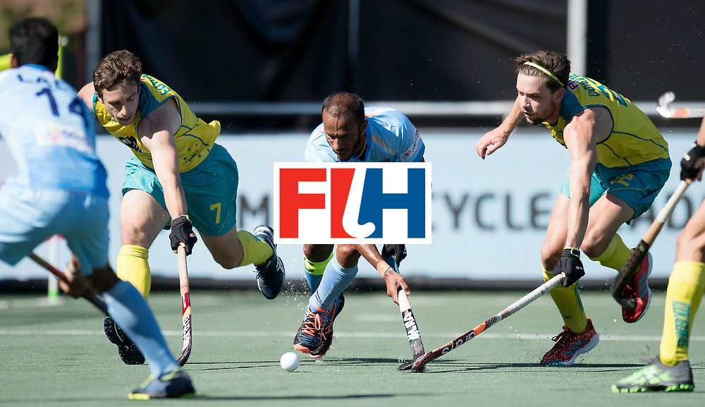 BREDA - Rabobank Hockey Champions Trophy<br /> Final Australia - India<br /> Photo: Sunil Sowmarpet.<br /> COPYRIGHT WORLDSPORTPICS FRANK UIJLENBROEK