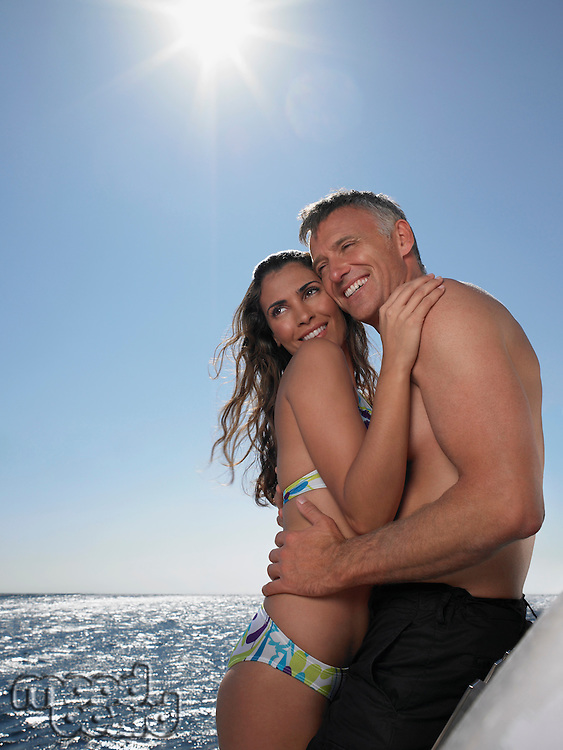 Couple on a Boat