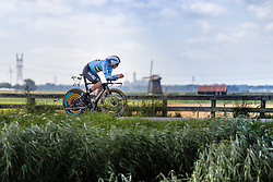 LAMPAERT Yves from BELGIUM during Men Elite Time Trial at 2019 UEC European Road Championships, Alkmaar, The Netherlands, 8 August 2019. <br /> <br /> Photo by Thomas van Bracht / PelotonPhotos.com <br /> <br /> All photos usage must carry mandatory copyright credit (Peloton Photos | Thomas van Bracht)