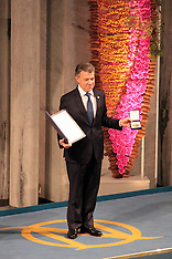 Colombia President receives the 2016 Nobel Peace Award