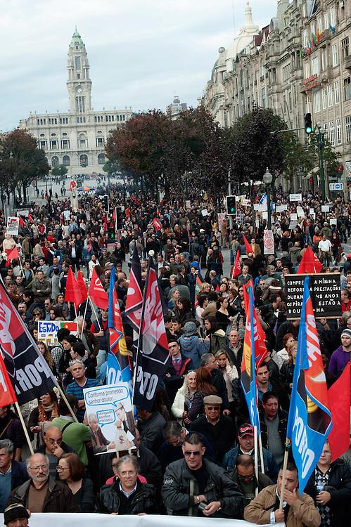 General Strike against austerity measures.