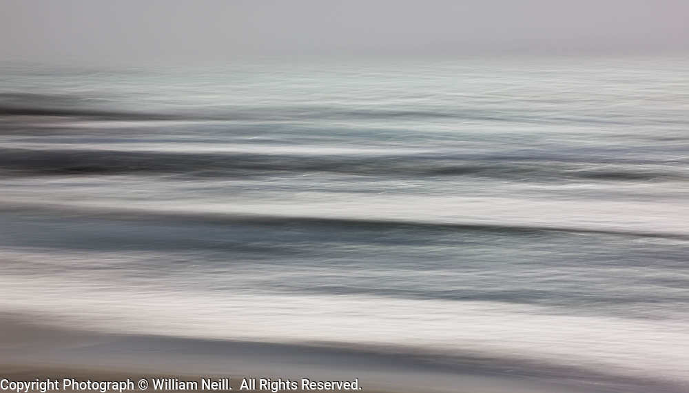 Silver Surf, Carmel Bay, California  2008