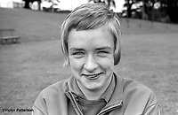 Elizabeth Wright, Craigavon, N Ireland, athlete, 400m, 800m, July, 1969, 196907000202<br /> <br /> Copyright Image from Victor Patterson,<br /> 54 Dorchester Park, <br /> Belfast, UK, BT9 <br /> <br /> t1: +44 28 9066 1296 (from Rep of Ireland 048 90661296)<br /> t2: +44 28 9002 2446 (from Rep of Ireland 048 9002 2446)<br /> <br /> m: +44 7802 353836<br /> <br /> e: victorpatterson@me.com<br /> www.victorpatterson.com<br /> <br /> Please see my Terms and Conditions of Use at www.victorpatterson.com. It is IMPORTANT that you familiarise yourself with them.<br /> <br /> Images used on the Internet must be visibly watermarked i.e. © Victor Patterson<br /> within the body of the image and copyright metadata must not be deleted. Images <br /> used on the Internet have a size restriction of 4kbs and will be chargeable at current<br />  NUJ rates unless agreed otherwise.<br /> <br /> This image is only available for the use of the download recipient i.e. television station, newspaper, magazine, book publisher, etc, and must not be passed on to any third <br /> party. It is also downloaded on condition that each and every usage is notified within 7 days to victorpatterson@me.com<br /> <br /> The right of Victor Patterson to be identified as the author is asserted in accordance with The Copyright Designs And Patents Act (1988). All moral rights are asserted.