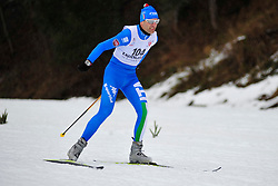 DE LORENZI Luca, ITA at the 2014 IPC Nordic Skiing World Cup Finals - Long Distance