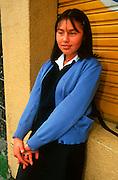 ECUADOR, QUITO, EDUCATION student in New Town area