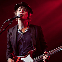 The notorious ex Libertines frontman Pete Doherty returns to Glasgow with Babyshambles to play Glasgow's world famous Barrowlands (PLEASE DO NOT REMOVE THIS CAPTION)<br /> This image is intended for portfolio use only.. Any commercial or promotional use requires additional clearance. <br /> © Copyright 2014 All rights protected.<br /> first use only<br /> contact details<br /> Stuart Westwood <br /> 07896488673<br /> stuartwestwood44@hotmail.com<br /> no internet usage without prior consent. <br /> Stuart Westwood reserves the right to pursue unauthorised use of this image . If you violate my intellectual property you may be liable for damages, loss of income, and profits you derive from the use of this image. (PLEASE DO NOT REMOVE THIS CAPTION)<br /> This image is intended for portfolio use only.. Any commercial or promotional use requires additional clearance. <br /> © Copyright 2014 All rights protected.<br /> first use only<br /> contact details<br /> Stuart Westwood <br /> 07896488673<br /> stuartwestwood44@hotmail.com<br /> no internet usage without prior consent. <br /> Stuart Westwood reserves the right to pursue unauthorised use of this image . If you violate my intellectual property you may be liable for damages, loss of income, and profits you derive from the use of this image.