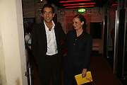 Mr. and Mrs. Clive Owen, Young Vic Official opening  following extensive two-year refurbishmen. The Cut. London. 20 October 2006. -DO NOT ARCHIVE-© Copyright Photograph by Dafydd Jones 66 Stockwell Park Rd. London SW9 0DA Tel 020 7733 0108 www.dafjones.com