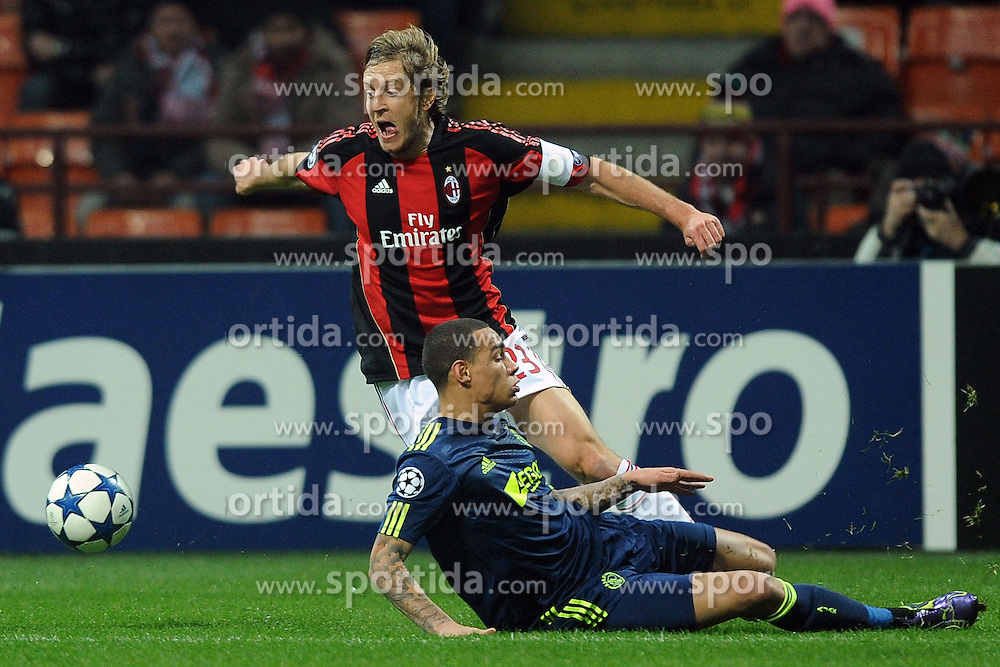 08.12.2010, Meazza Stadion, ITA, UEFA CL, AC Milan vs Ajax Amsterdam, im Bild Massimo AMBROSINI Milan, EXPA Pictures © 2010, PhotoCredit: EXPA/ InsideFoto/ Zangirolami+++++ ATTENTION - FOR USE IN AUSTRIA/AUT AND SLOVENIA/SLO ONLY +++++