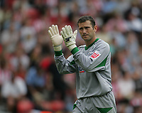 Photo: Lee Earle.<br /> Southampton v Panathinaikos. Pre Season Friendly. 29/07/2006. Recent Saint's signing, keeper Kelvin Davis.