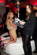 IRINA KOVA; MASHA MARKOVA, Hosted by Interview Russia.  On behalf of Ferrari, Peter M. Brant and SothebyÕs Tobias Meyer party in honor of FerrariÕs Chairman, Luca di Montezemolo, 1111 Lincoln Road, the iconic car-park in the shopping mall designed by the Pritzker prize winning team Herzog & de Meuron.,  Miami Beach. 29 November 2011.<br /> IRINA KOVA; MASHA MARKOVA, Hosted by Interview Russia.  On behalf of Ferrari, Peter M. Brant and Sotheby's Tobias Meyer party in honor of Ferrari's Chairman, Luca di Montezemolo, 1111 Lincoln Road, the iconic car-park in the shopping mall designed by the Pritzker prize winning team Herzog & de Meuron.,  Miami Beach. 29 November 2011.