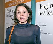2017-12-12. Stadsschouwburg Utrecht. Premiere van het toneelstuk Hendrik Groen. Op de foto Nina Admiraal