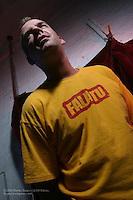 Fatboy Slim photographed in studio on August 2, 2004..©2004 Rahav Segev /Photopass.com..