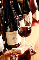 Domaine du Vissoux, Beaujolais..Chermette's AOC Fleurie. September 14, 2007..Photo by Owen Franken for the NY Times.