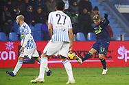 Foto LaPresse/Filippo Rubin<br /> 26/12/2018 Ferrara (Italia)<br /> Sport Calcio<br /> Spal - Udinese - Campionato di calcio Serie A 2018/2019 - Stadio &quot;Paolo Mazza&quot;<br /> Nella foto: JENS STRYGER LARSEN (UDINESE)<br /> <br /> Photo LaPresse/Filippo Rubin<br /> December 26, 2018 Ferrara (Italy)<br /> Sport Soccer<br /> Spal vs Udinese - Italian Football Championship League A 2018/2019 - &quot;Paolo Mazza&quot; Stadium <br /> In the pic: JENS STRYGER LARSEN (UDINESE)