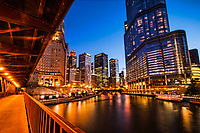 DuSable Bridge (Michigan Avenue) & Chicago River