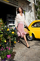 Moa &Aring;berg model ELLE Positano <br />Emma Unckel Stylist  Ass Karolina Lindqvist<br />Josefin Giglic Hair <br />Regina T&ouml;rnwall Make Up