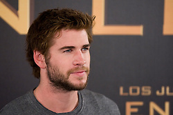 Liam Hemsworth during The Hunger Games: Catching Fire' Madrid Photocall,  Wednesday, 13th November 2013. Picture by Oscar Gonzalez / i-Images<br /> SPAIN OUT