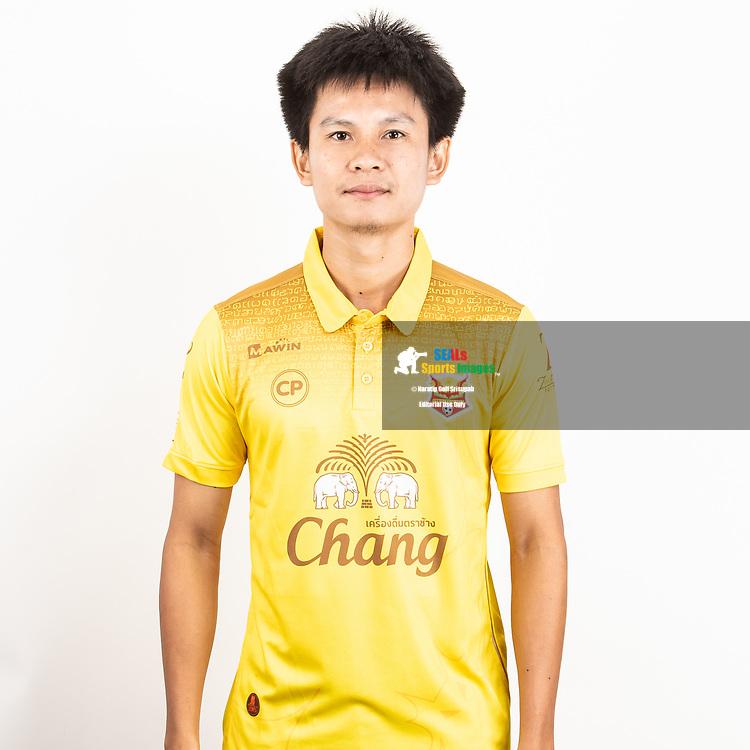 THAILAND - JUNE 29: Pongpat Liorungrueangkit #39 of Sukhothai FC on June 29, 2019.<br /> .<br /> .<br /> .<br /> (Photo by: Naratip Golf Srisupab/SEALs Sports Images/MB Media Solutions)