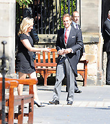 30.JULY.2011. EDINBURGH<br /> <br /> DAVE CLARKE ARRIVING AT CANONGATE CHURCH IN EDINBURGH FOR THE WEDDING OF ZARA PHILLIPS AND MIKE TINDALL.<br /> <br /> BYLINE: EDBIMAGEARCHIVE.COM<br /> <br /> *THIS IMAGE IS STRICTLY FOR UK NEWSPAPERS AND MAGAZINES ONLY*<br /> *FOR WORLD WIDE SALES AND WEB USE PLEASE CONTACT EDBIMAGEARCHIVE - 0208 954 5968*