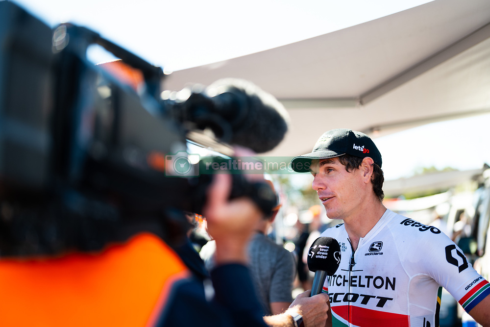 January 20, 2019 - Adelaide, South Australia, Australia - Daryl Impey, Team Mitchelton Scott at the start of stage 6 of the Tour Down Under, Australia on the 20 of January 2019  (Credit Image: © Gary Francis/ZUMA Wire)