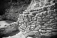 Building remains at Montezuma Castle, Camp Verde, AZ