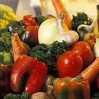 Variedad de vegetales.