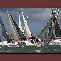 Round the island Race, 2016, Cowes, Isle of Wight, , canvas canvases prints print