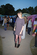 SOPHIE DAHL;  Serpentine's Summer party co-hosted with Christopher Kane. 15th Serpentine Pavilion designed by Spanish architects Selgascano. Kensington Gardens. London. 2 July 2015.