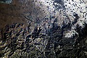he Great Wall of China and Inner Mongolia are featured in this image photographed by Expedition 10 Commander Leroy Chiao on the International Space Station.