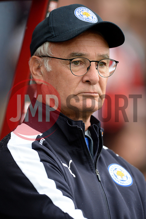 Leicester City Manager Claudio Ranieri - Mandatory byline: Alex James/JMP - 07966386802 - 29/08/2015 - FOOTBALL - Dean Court -Bournemouth,England - AFC Bournemouth v Leicester City - Barclays Premier League
