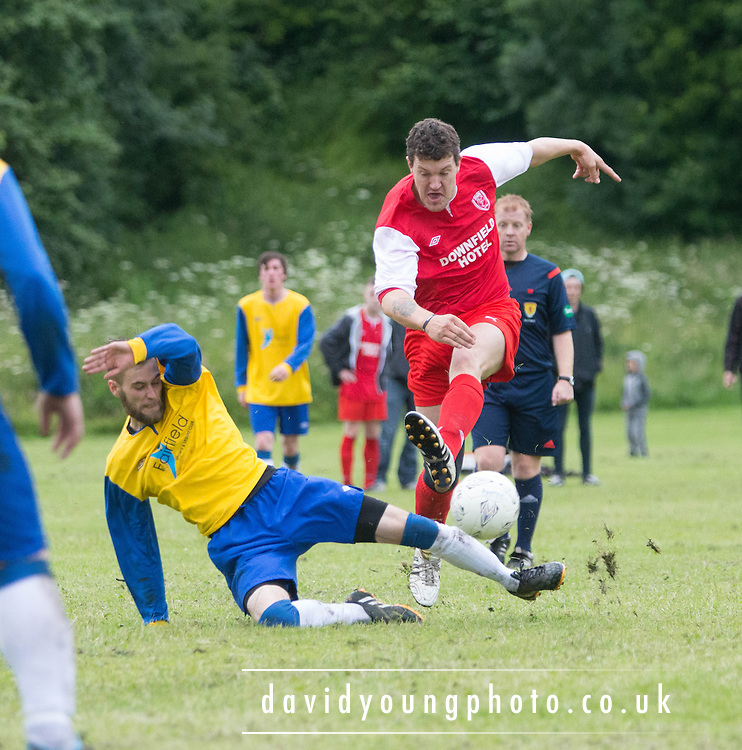 Docs AFC (Red) v Tayside Athletic (Yellow and Blue)- Dundee Summer Football Association at Drumgieth<br /> <br />  - &copy; David Young - www.davidyoungphoto.co.uk - email: davidyoungphoto@gmail.com