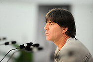 Germany head coach Joachim Low speaks at a press conference at Stadio Communale, Ascona<br /> Picture by EXPA Pictures/Focus Images Ltd 07814482222<br /> 31/05/2016<br /> ***UK &amp; IRELAND ONLY***<br /> EXPA-EIB-160531-0014.jpg