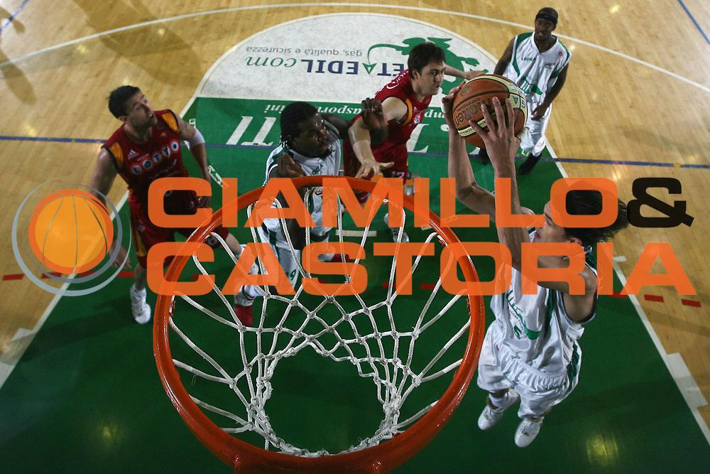 DESCRIZIONE : Avellino Lega A1 2007-08 Playoff Semifinale Gara 2 Air Avellino Lottomatica Virtus Roma<br /> GIOCATORE : Nikola Radulovic<br /> SQUADRA : Air Avellino<br /> EVENTO : Campionato Lega A1 2007-2008<br /> GARA : Lottomatica Virtus Roma Air Avellino<br /> DATA : 25/05/2008<br /> CATEGORIA : Rimbalzo<br /> SPORT : Pallacanestro<br /> AUTORE : Agenzia Ciamillo-Castoria/E.Castoria