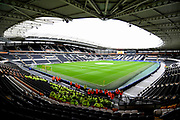 Hull City KCOM ground before the Premier League match between Hull City and West Ham United at the KCOM Stadium, Kingston upon Hull, England on 1 April 2017. Photo by Ian Lyall.