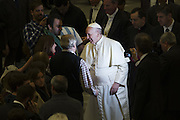 Jan 07th 2015 Vatican City, Pope Francis attends his weekly general audience
