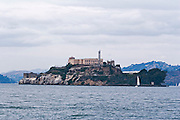 San Francisco California USA, California The island and prison of Alcatraz