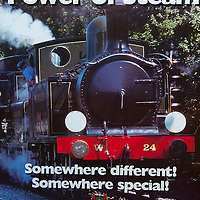 Isle of Wight, Steam Railway, Havenstreet, Poster, Photograph by Patrick Eden Photography