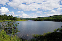 Comerford Reservoir on the Connecticut River, Monroe, NH
