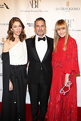 Maggie Gyllenhaal, Cynthia Erivo, Sofia Coppola, Victor Cruz & Amy Astley acted as co-chairs for the event, which also featured ballet dancers Misty Copeland & Gillian Murphy at the David H. Koch Theater. 18 Oct 2017 Pictured: Sofia Coppola, Marc Jacobs, Amy Astley. Photo credit: Jennifer Mitchell / MEGA TheMegaAgency.com +1 888 505 6342