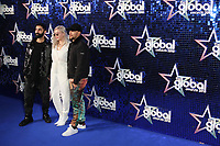 Amir Amor, Anne-Marie, Kesi Dryden attends The Global Awards, a brand new awards show hosted by Global, the Media & Entertainment group at Eventim Apollo Hammersmith, London UK, 01 March 2018, Photo by Richard Goldschmidt