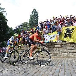 06-07-2019: Wielrennen: Tour de France: Brussel<br />Passage Muur van Geraardsbergen