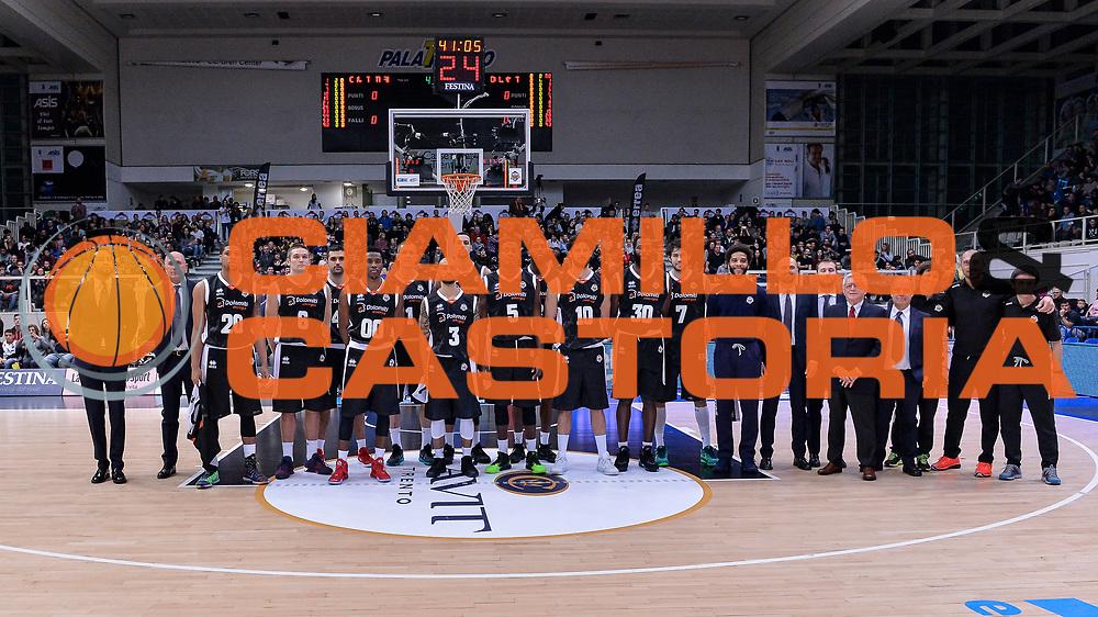 DESCRIZIONE : Trento Beko All Star Game 2016<br /> GIOCATORE : Dolomiti Energia All Star Team<br /> CATEGORIA : Before Pregame<br /> SQUADRA : Dolomiti Energia All Star Team<br /> EVENTO : Beko All Star Game 2016<br /> GARA : Beko All Star Game 2016<br /> DATA : 10/01/2016<br /> SPORT : Pallacanestro <br /> AUTORE : Agenzia Ciamillo-Castoria/L.Canu