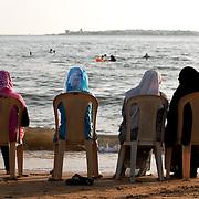 A Day at the Beach, Tartous, Syria. Une journée à la plage, Tartous, Syrie.