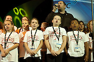 You're The Voice choir, MfY, at the TUC Conference 2009...© Martin Jenkinson, tel 0114 258 6808 mobile 07831 189363 email martin@pressphotos.co.uk. Copyright Designs & Patents Act 1988, moral rights asserted credit required. No part of this photo to be stored, reproduced, manipulated or transmitted to third parties by any means without prior written permission