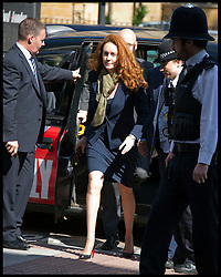 Rebekah and her husband Charlie Brooks arrive at Westminster Magistrates Court,  Monday 11th June 2012.Photo by Andrew Parsons/i-Images..All Rights Reserved ©Andrew Parsons/i-Images .See Special Instructions