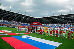 Teams during the EURO 2016 Qualifier Group E match between Slovenia and England at SRC Stozice on June 14, 2015 in Ljubljana, Slovenia. Photo by Vid Ponikvar / Sportida