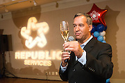 Republic Services of Santa Clara County hosts its Safety Banquet at the Sheraton San Jose Hotel in Milpitas, California, on April 25, 2015. (Stan Olszewski/SOSKIphoto)
