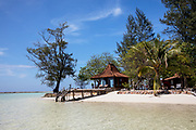 INDONESIA, Karimunjawa Archipelago, Kura Kura Resort,  Krakal Kecil, the private island for few guesys only with no runnig water or electricity.